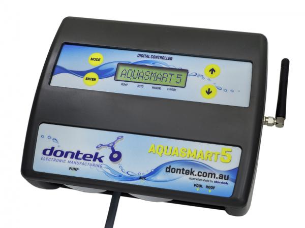 Aquasmart 5 LED Display Solar Controller