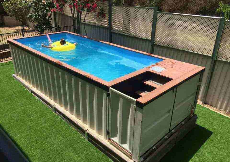 Unconventional Swimming Pool (Shipping Container)