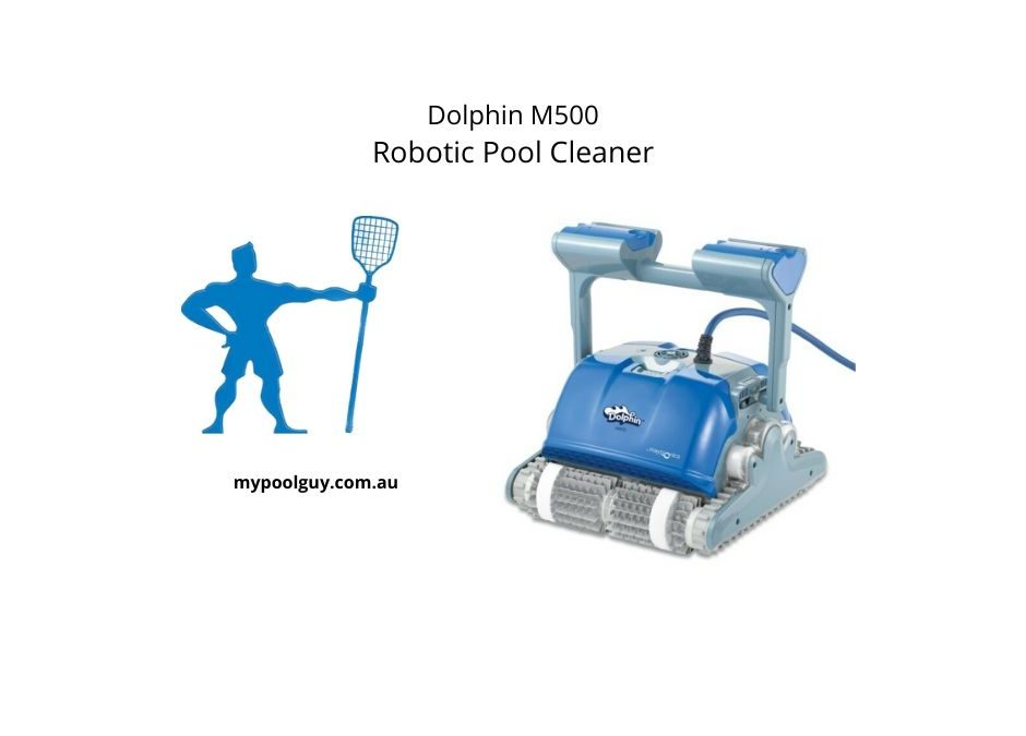 Dolphin M500 Robotic Pool Cleaner