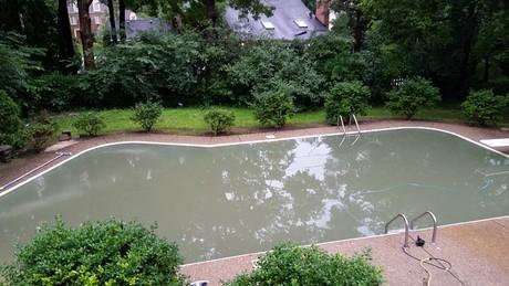 How Mud Rains Can Affect Swimming Pools